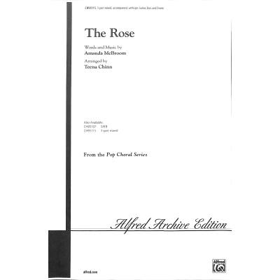 the-rose, 3.50 EUR @ notenbuch-de