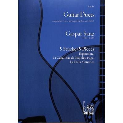 Guitar duets 1 | 5 Stücke