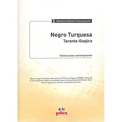 negro-turquesa