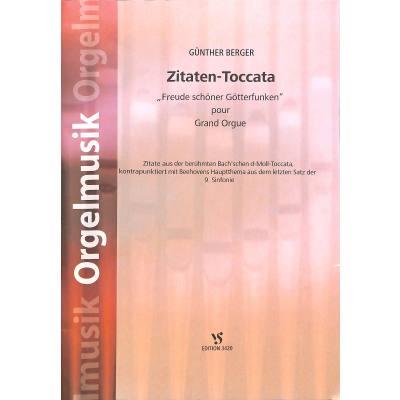 Zitaten Toccata | FREUDE SCHOENER GOETTERFUNKEN