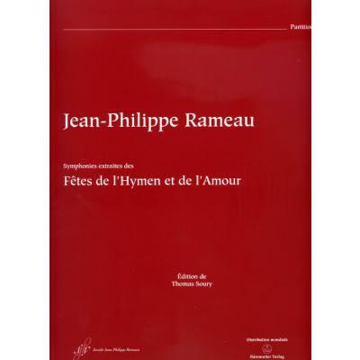 Symphonies extraites des Fetes de l'Hymnen et de l'Amour