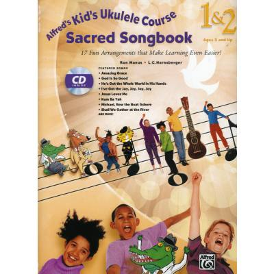Sacred songbook 1 + 2 | Kid's Ukulele course complete