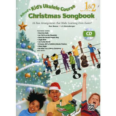 CHRISTMAS SONGBOOK | Kid's Ukulele course complete