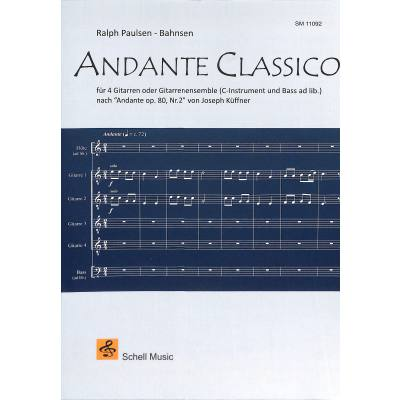 Andante classico | Andate op 80/2