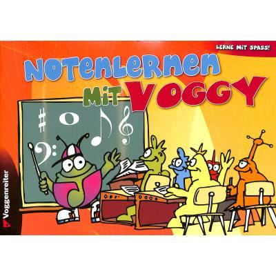 Noten lernen mit Voggy | NOTENHEFT