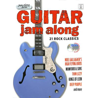 Guitar jam along - 21 Rock Classics