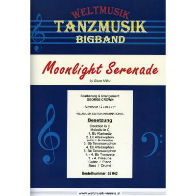 moonlight-serenade, 24.95 EUR @ notenbuch-de