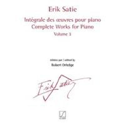 COMPLETE WORKS 3 | INTEGRALE DES OEUVRES
