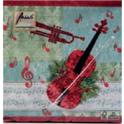 servietten-violine