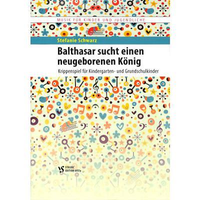 Balthasar sucht einen neugeborenen Koenig | KRIPPENSPIEL