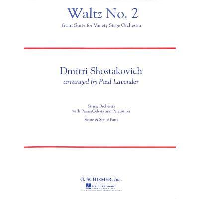 second-waltz-walzer-2-aus-suite-2-fur-jazz-orchester