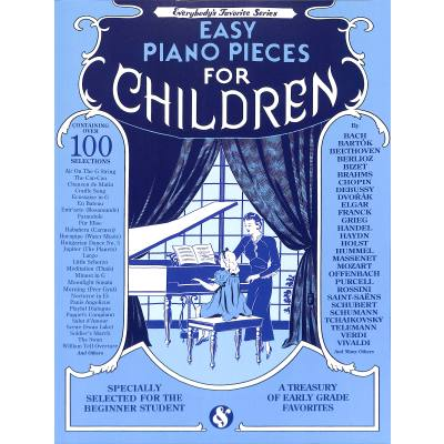 Easy piano pieces for children