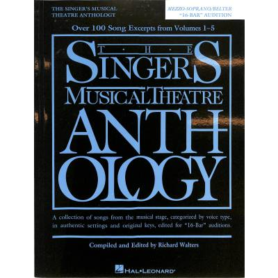 The Singer´s musical theatre anthology