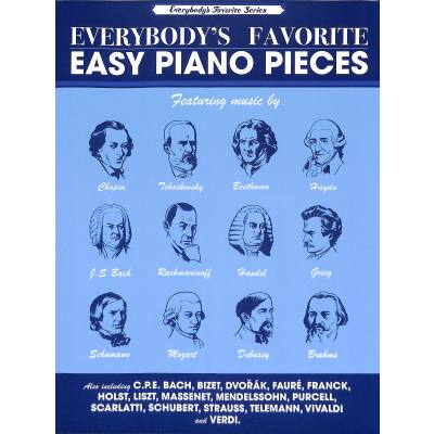 Everybody´s favorite easy piano pieces