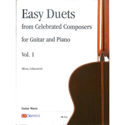 EASY DUETS FROM CELEBRATED COMPOSERS