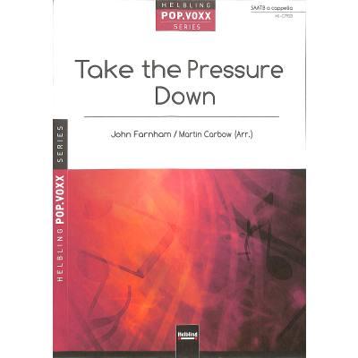 Take the pressure down