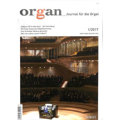 ORGAN - JOURNAL FUER DIE ORGEL 2017/01