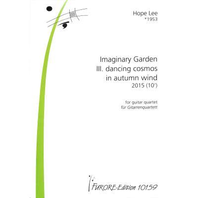 Imaginary garden 3 | Dancing cosmos in autumn wind