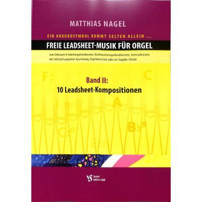 Freie Leadsheet Musik fuer Orgel 2 | 10 Leadshe...