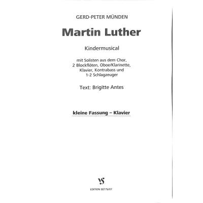 Martin Luther - das Musical