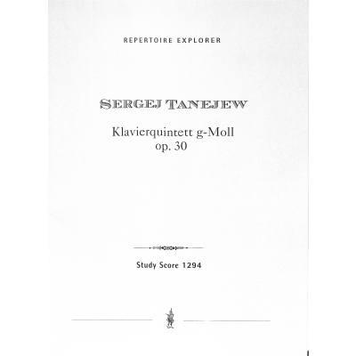 quintett-g-moll-op-30