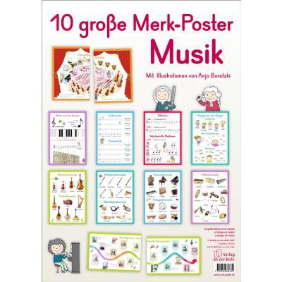 10 grosse Merk Poster Musik
