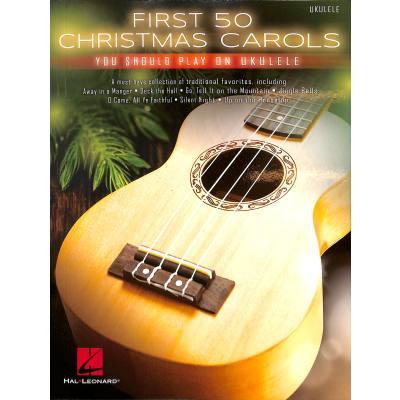 First 50 christmas carols you should play on ukulele