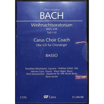 WEIHNACHTSORATORIUM BWV 248 TEIL 1-4