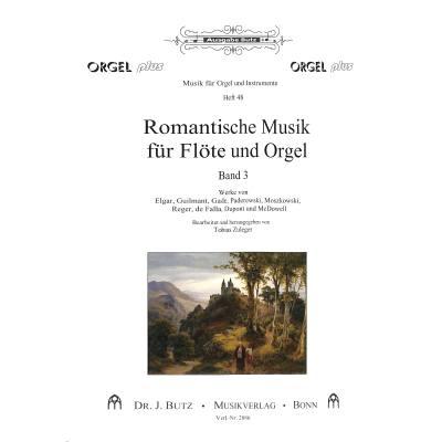 Romantische Musik für Flöte + Orgel 3