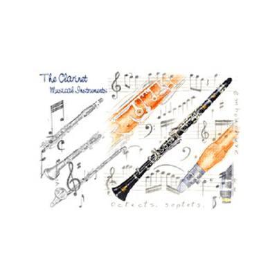 doppelkarte-klarinette