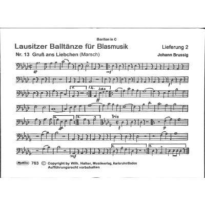 lausitzer-balltaenze-fuer-blasmusik-2, 5.00 EUR @ notenbuch-de