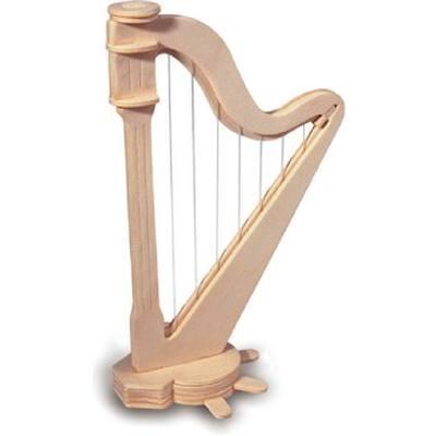holz-harfe-puzzle