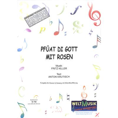 pfuat-di-gott-mit-rosen, 5.50 EUR @ notenbuch-de