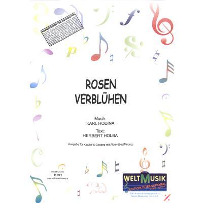 rosen-verbluhen, 5.50 EUR @ notenbuch-de
