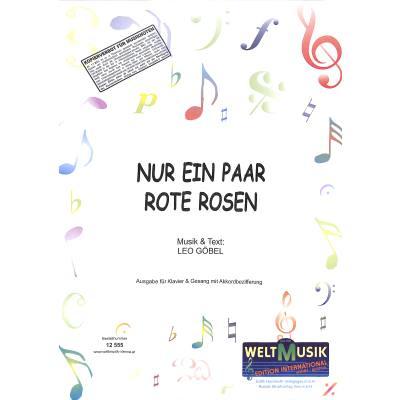 nur-ein-paar-rote-rosen, 5.50 EUR @ notenbuch-de