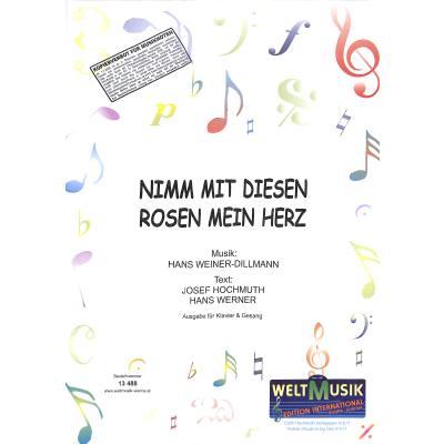 nimm-mit-diesen-rosen-mein-herz, 5.50 EUR @ notenbuch-de