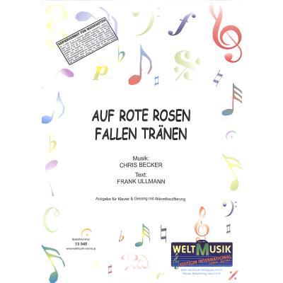 auf-rote-rosen-fallen-tranen, 5.50 EUR @ notenbuch-de