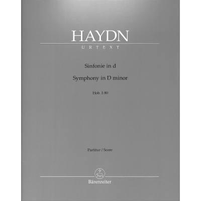 Sinfonie d-moll Hob 1:80