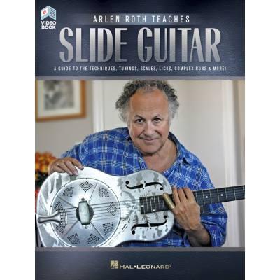 Teaches slide guitar