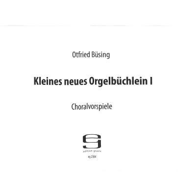 kleines-neues-orgelbuchlein-1-choralvorspiele