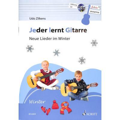Jeder lernt Gitarre | Neue Lieder im Winter