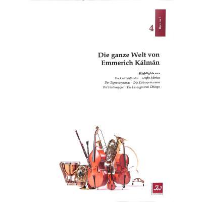 die-ganze-welt-von-emmerich-kalman, 9.90 EUR @ notenbuch-de