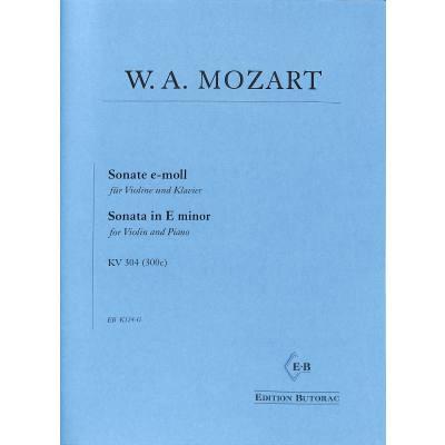Sonate e-moll KV 304