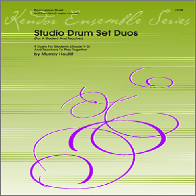 studio-drum-set-duos-for-a-student-and-teacher-, 12.99 EUR @ notenbuch-de