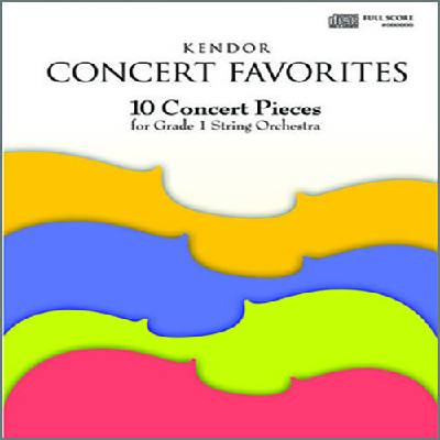 kendor-concert-favorites-full-score