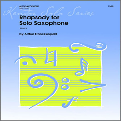rhapsody-for-solo-saxophone, 6.99 EUR @ notenbuch-de
