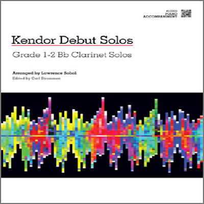 kendor-debut-solos-bb-clarinet-piano-accompaniment