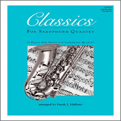 classics-for-saxophone-quartet-2nd-eb-alto-saxophone
