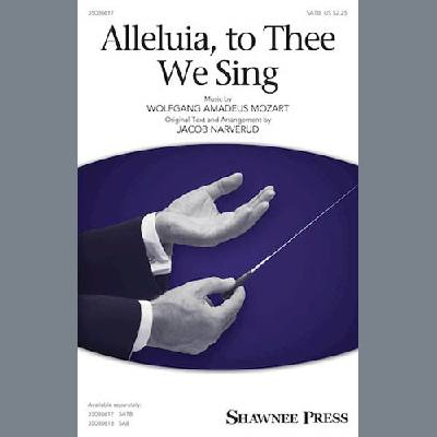 Alleluia, To Thee We Sing (arr. Jacob Narverud) jetztbilligerkaufen