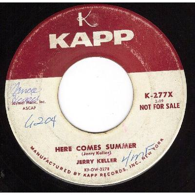 Here Comes Summer Jerry Keller